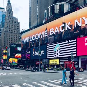 おかえり! ニューヨーク。