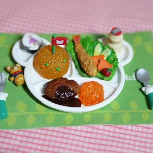 momokoだってお子様ランチが食べたい