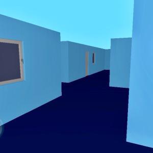 迷路施設→物体の異空間→文字列の異空間→異空間のデパート→異空間広場から夢現の狭間
