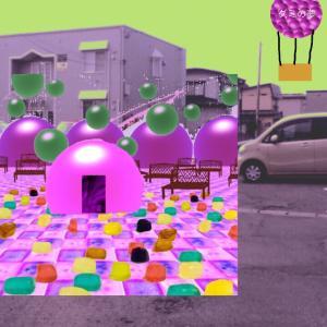 異空間化した世界→グミ広場→気球→小屋の中にも広場→Wi-Fi→物体の異空間→タイル床の異空間