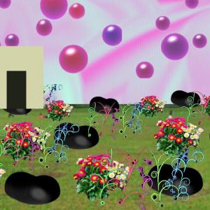 異空間の部屋→便器の異空間→異空間化した街中→地下道→異空間の野原→夢現異空間
