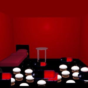 キッチンで料理→異空間部屋→階段→タイル床の異空間→通路→赤黒の異空間→部屋→多重夢→万華鏡広場