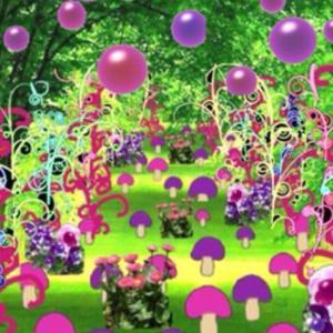 異空間の公園→広いエリア→ネオン花通路→異空間の森→デパート→セールコーナー→夢現→グミの異空間