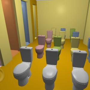 巨大デパート→フードコートのようなトイレ→吐き気→グミ広場→物体の異空間→グミエリア→夢現