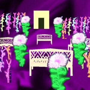 物体の異空間→ネオン広場→異空間の施設→グミの部屋→GUMITUBE→宇宙異空間通路→夢現異空間