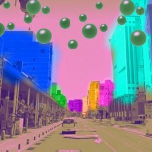 異空間の街中→異空間通路→物体の異空間→街中→異空間化した住宅街→多重夢→異空間の部屋→夢現