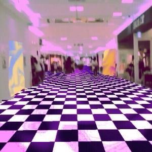 異空間のデパート→異空間広場→異空間のネカフェ→グミつべ→夢現→グミの異空間→ネオンの異空間