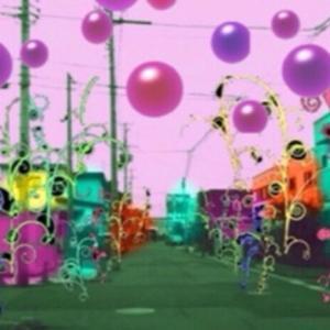 異空間の街中→デパート→異空間広場→食品館→家の近くの街中→異空間化した世界→紫の入口アプリ