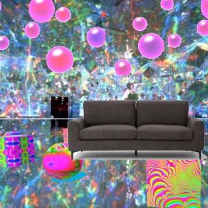 物体の異空間→異空間の部屋→どっかの街中→公園→ブランコベンチ→異空間アプリで異空間化→夢現通路