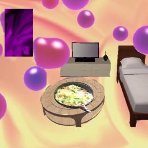 サイケの異空間→万華鏡通路→宇宙異空間→異空間の部屋→夢現