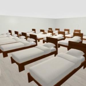 街中→異空間の施設→クリニックの診察室→ベッドの部屋→多重夢→万華鏡通路→宇宙異空間