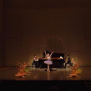 ピアノ×バレエコンサートの動画『序奏とリラの精』