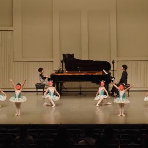 ピアノ×バレエコンサートの動画『オーロラ姫の友人』
