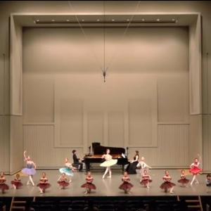 ピアノ×バレエコンサートの動画『宮廷のお姫様と王子様』