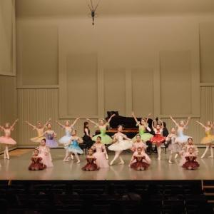 ピアノ×バレエコンサートの動画『花の輪のワルツ~フィナーレ』