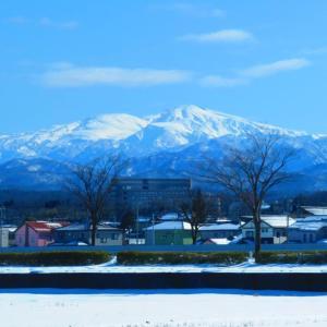 冬晴れ 白銀の白山連峰の一日。。。
