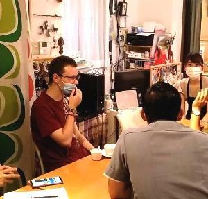 8月の日本語でディスカッション