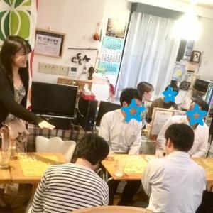 将棋カフェレッスンは、8/23(金)は中止となりました
