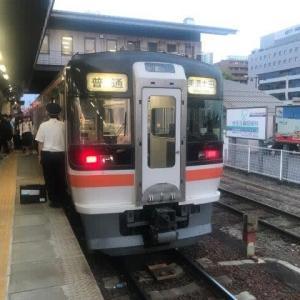 美濃太田駅で乗り換えた