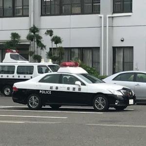 岐阜県POLICEパトカー