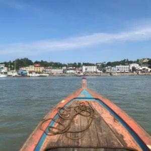 ミャンマー コータウン上陸 2019.11.18