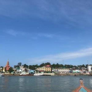 ミャンマー コータウン入国手続きは意外と簡単 地図付き