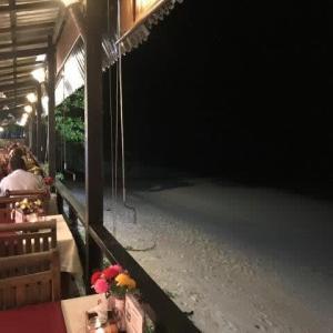 夜のバンガー湾
