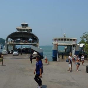 チャン島に上陸してロットゥアに乗った