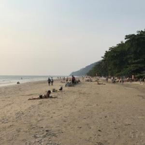 チャン島ホワイトサンドビーチを歩いた