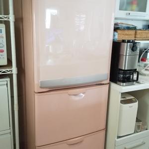 冷蔵庫が届きます!