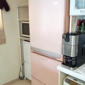 冷蔵庫が届いた!
