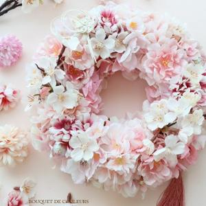SAKURA pink wreath♡