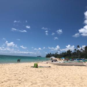2019年ハワイ旅行⑤ラニカイ~カイルアでのんびり過ごす一日