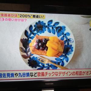 テレビで観た食器選びのテクニック