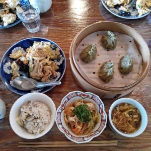 半年振りの中国料理教室と復習した料理
