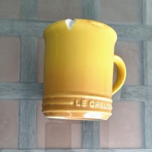 ル・クルーゼのコップが欠けた
