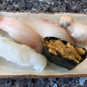 2020/9/23ご飯記録 お墓参りの後回転寿司
