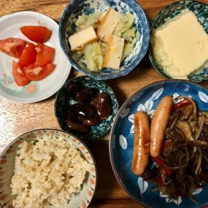 2020/10/27ご飯記録  鹿肉の野菜炒め