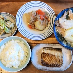 2021/4/12ご飯記録 塩鯖の焼き魚