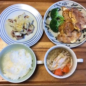2021/4/12ご飯記録 豚ヒレ肉のピカタ