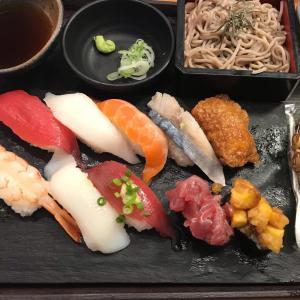 2021/9/22ご飯記録 お墓参りの後回転寿司