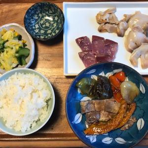 2021/9/27ご飯記録 急遽北寄貝のお刺身