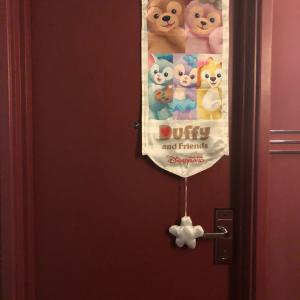 【香港ディズニーランド】ハリウッドホテルのダッフィールーム(画像2枚)