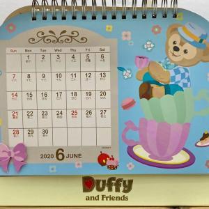 ダッフィーと6月のご挨拶(画像1枚)