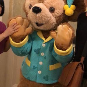 【香港ディズニー】去年の今頃はパジャマダッフィーとグティング