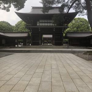 靖国神社と明治神宮。