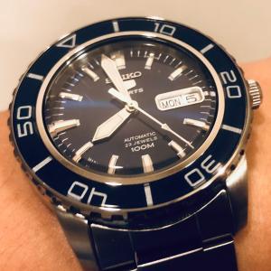 過去の時計 2 / SEIKO ファイブ スポーツ ダイバーズ