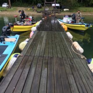 猪苗代湖 10月 バス釣り
