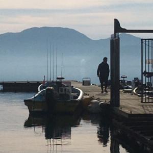 猪苗代湖 ボート釣り