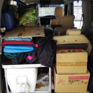 キャンプ動画&車の収納